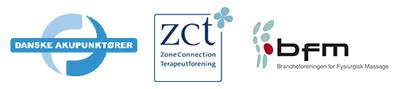 Medlem af brancheforeninger inden for Zoneterapi, massage og akupunktur